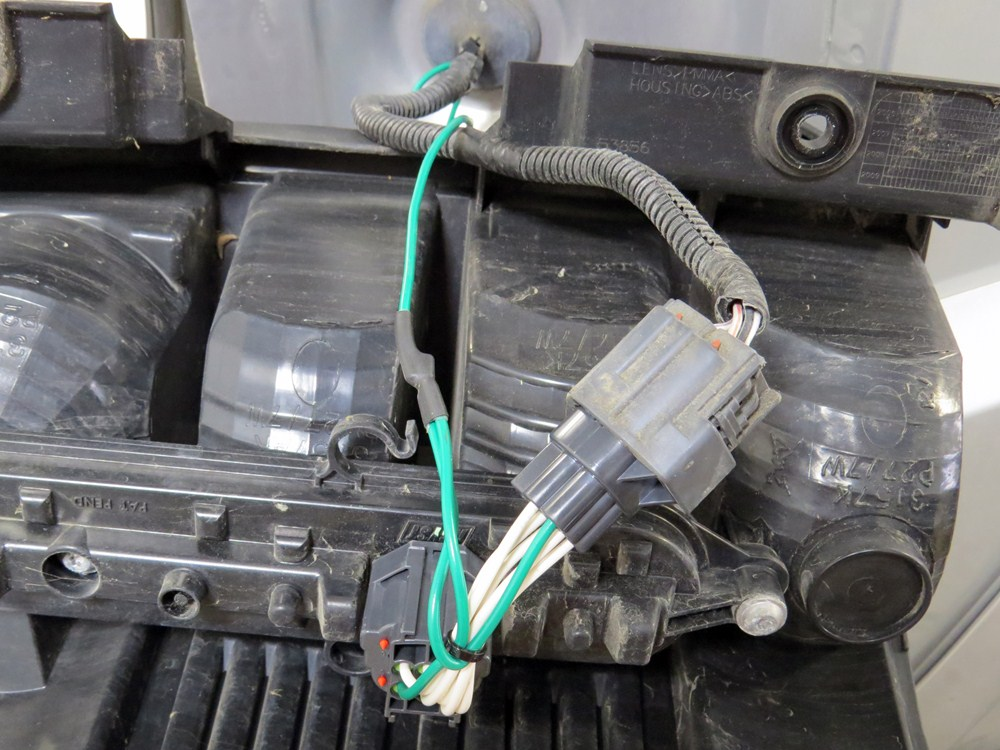 Custom Fit Vehicle Wiring By Curt For 2009 Liberty