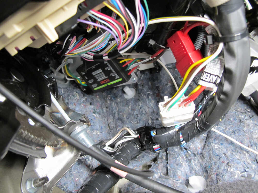 Custom Fit Vehicle Wiring By Curt For 2013 Highlander