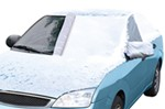 "Classic Accessories Deluxe Windshield Cover for Compact Cars - Up to 58"" Wide"