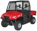 Classic Accessories All-Weather UTV Cab Enclosure for Honda Big Red - Black