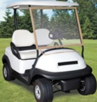 Classic Accessories Deluxe Portable Windshield for Golf Carts