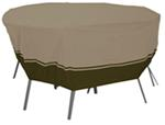 "Classic Accessories Villa Cover for Patio Table-and-Chair Set - 70"" Diameter"