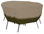 "Classic Accessories Villa Cover for Patio Table-and-Chair Set - 94"" Diameter"