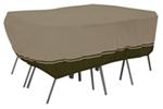 "Classic Accessories Villa Cover for Patio Table-and-Chair Set - 108"" Long x 82"" Wide"