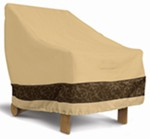 "Classic Accessories High-Back Patio Chair Cover - Veranda Elite - Up to 26"" Backrest"