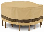 "Classic Accessories Cover for Patio Table-and-Chairs Set - Veranda Elite - 94"" Diameter"