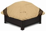 "Classic Accessories Square Fire Pit Cover - Veranda Elite - 40"" Wide"