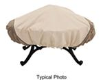 "Classic Accessories Heavy-Duty, Round Fire Pit Cover - Veranda Collection - 60"" Diameter"