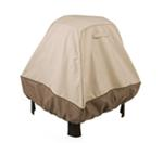 "Classic Accessories Heavy-Duty, Stand-Up Fire Pit Cover - Veranda Collection - 35"" Tall"