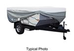 Classic Accessories Deluxe PolyPro III Heavy-Duty Pop-Up Camper Cover - 10' - 12' Long