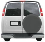 "Classic Accessories Universal Spare Tire Cover - 30"" to 33"" - Gray"