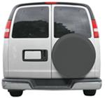 "Classic Accessories Custom Fit Spare Tire Cover - 28"" to 29"" - Gray"