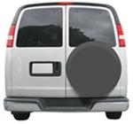 "Classic Accessories Custom Fit Spare Tire Cover - 33-1/4"" to 34-1/4"" - Gray"