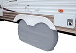 "Classic Accessories Dual-Axle RV Wheel Cover - 58"" Long x 27"" Tall - Gray"