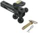 "Convert-A-Ball Cushioned, 6-Way, Multi-Hitch Ball Mount for 2"" Hitches - 10,000 lbs"
