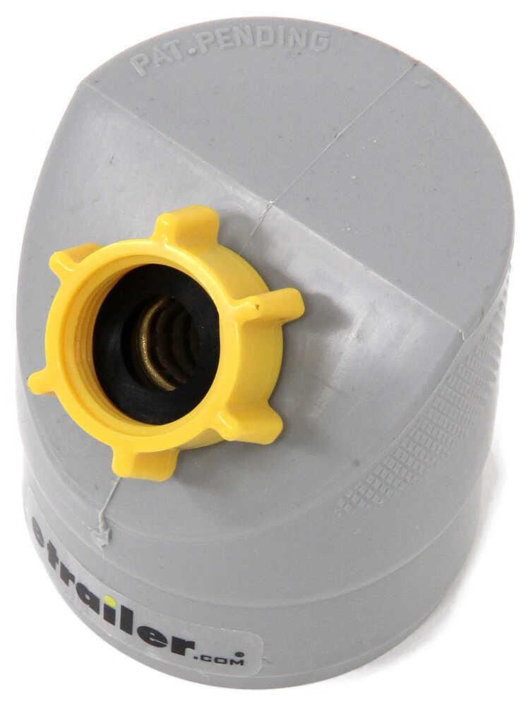 Easy slip rv gray water drain adapter camco plumbing cam