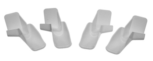 Camco Rv Rain Gutter Spouts W Extensions Slide On Qty
