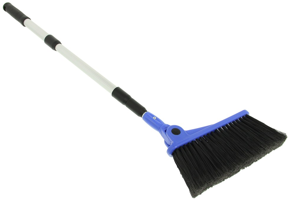 Camco Rv Adjustable Broom W Dustpan Camco Housewares Cam43623