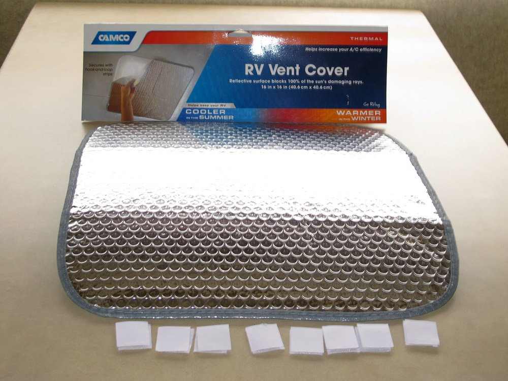 Camco Sunshield Shade For Rv Roof Vents Camco Covers Cam45191