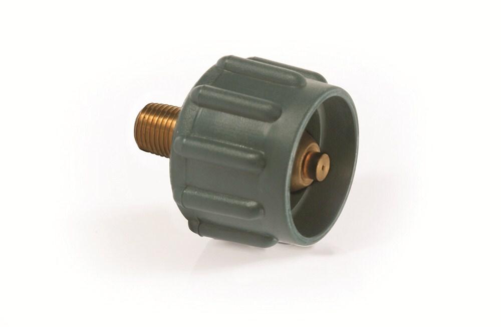 Camco Propane Fitting Acme Nut X 1 4 Quot Male Npt 200 000 Btu Hr Green Camco Propane Cam59923