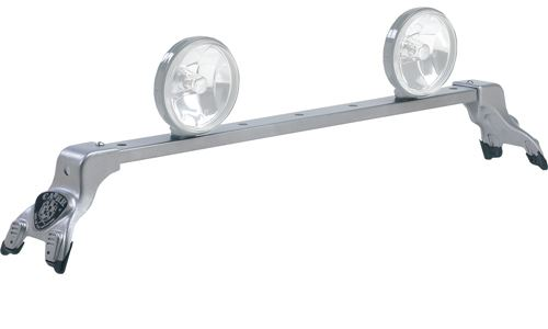 CARR210344 Carr Deluxe Light Bar - Silver Powder Coated Steel