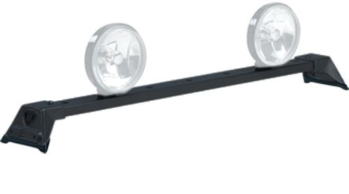 CARR210501 Carr Low-Profile Light Bar - Black Powder Coated Steel