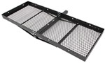 "Stromberg Carlson 23x60 Cargo Carrier for 2"" Hitches - Powder Coated Steel - 500 lbs"