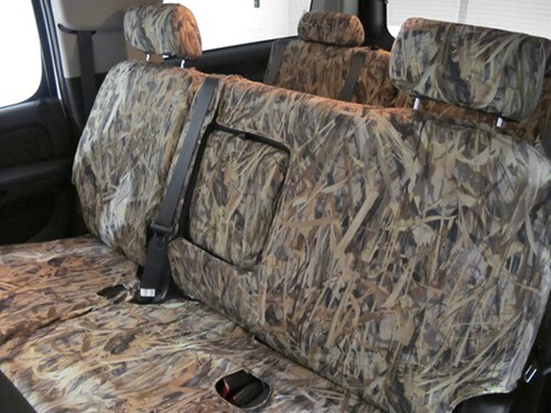 2009 Ford F-250 and F-350 Super Duty Seat Covers Covercraft SS7389TTFT