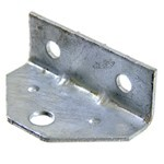 "CE Smith Swivel Bracket for Boat Trailers - Galvanized Steel - 2"" Hole Centers - Qty 1"
