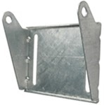 "CE Smith Panel Bracket for 8"" Boat Trailer Rollers - Galvanized Steel"