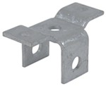CE Smith Front Hanger Bracket for Trailer Slipper Springs - Galvanized Steel - Bolt On - Qty 1