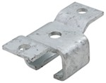 CE Smith Rear Hanger Bracket for Trailer Slipper Springs - Galvanized Steel - Bolt On - Qty 1