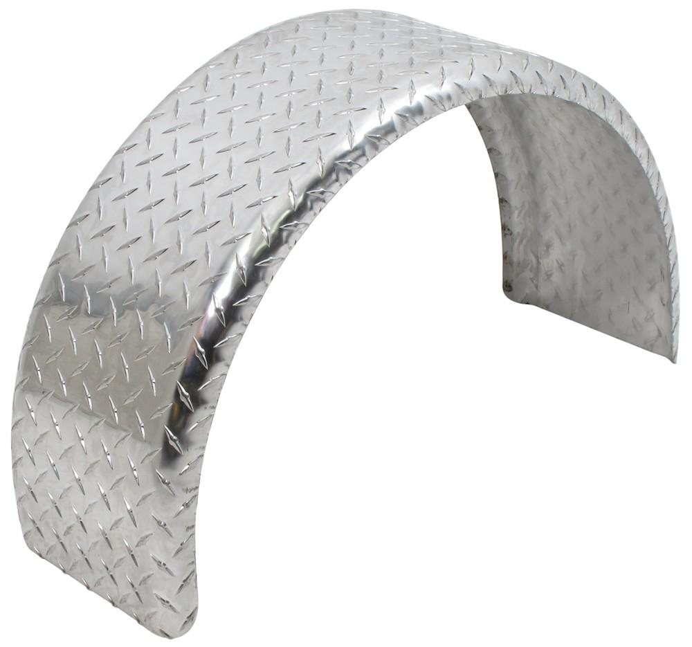 Aluminum Trailer Fenders : Ce smith single axle trailer fender aluminum tread plate