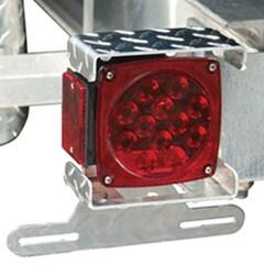 ce smith trailer license plate bracket tail light mount aluminum tread pl. Black Bedroom Furniture Sets. Home Design Ideas