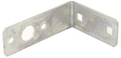 "Replacement Tail Light Bracket for CE Smith Boat Trailer - Galvanized Steel - 4-1/2"" Long"