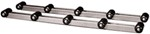 CE Smith Roller Bunks for Boat Trailers - 5 Rollers Each - 4' Long - 1,500 lbs - 1 Pair