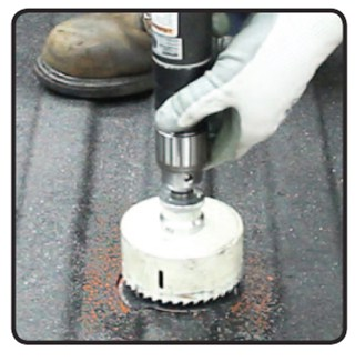 Curt Center Locator for Drilling Ball Hole in Truck Bed