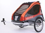 Chariot Corsaire XL Bike Trailer - Touring Series - 2 Child - Apricot/Red/Gray - 1 Year and Older