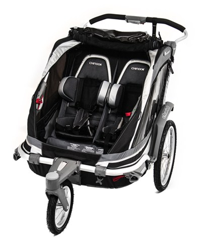 Thule Chinook Stroller and Jogger w/ Accessories - 2 Child ...