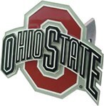 Ohio State Buckeyes Trailer Hitch Receiver Cover