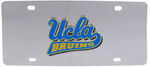 UCLA Bruins Collegiate Stainless Steel License Plate
