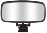 "CIPA Comp Rearview Boat Mirror - Convex - Square Windshield Mount - 14"" Long x 7"" Wide"