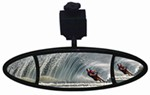 "CIPA Ellipse Rearview Boat Mirror - Multi-Face - Windshield Mount - 11"" Long x 4"" Wide"
