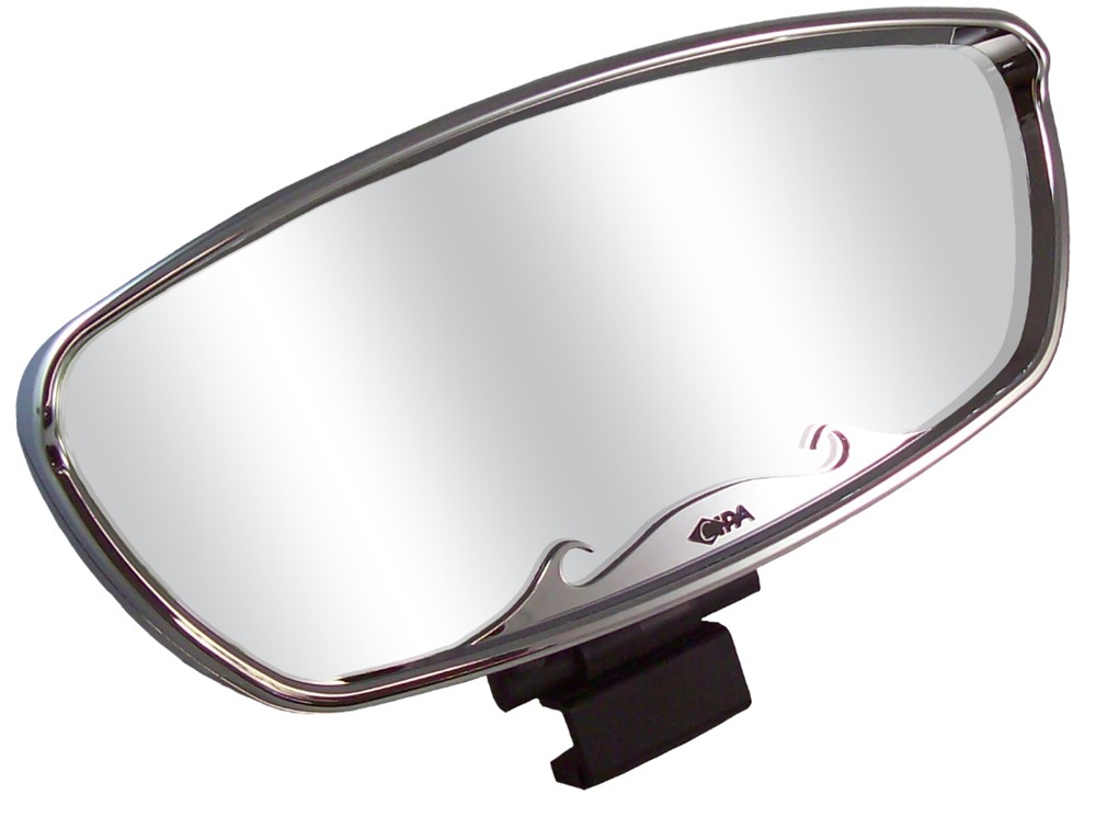 Cipa wave rearview boat mirror convex square for Mirror yacht