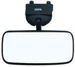 "CIPA Concept II Rearview Boat Mirror - Convex Glass - Windshield Mount - 8"" x 4"" - Black"