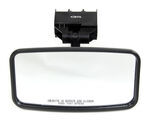 "CIPA Rearview Boat Mirror - Convex Face - Windshield Mount - 8"" Long x 4-1/4"" Wide"