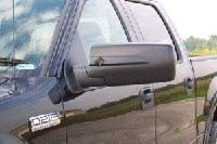 CIPA slip-on mirror installed