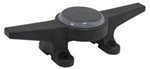 Safe-T-Cleat Lighted Dock Cleat - Solar Powered - Black