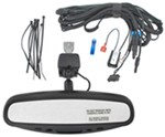 CIPA Auto-Dimming Rearview Mirror with Compass and Temperature Display - Wedge Mount