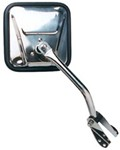 CIPA 2007 Jeep Wrangler Custom Towing Mirrors